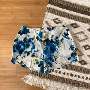 Love Tree Floral Shorts